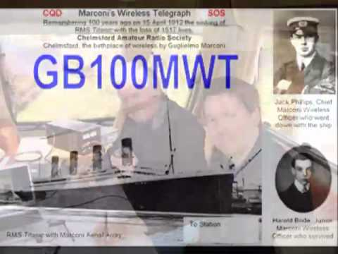 GB100MWT Titanic Special Event Station