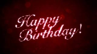 download lagu Happy Birthday On Red -  Motion Graphics Background gratis