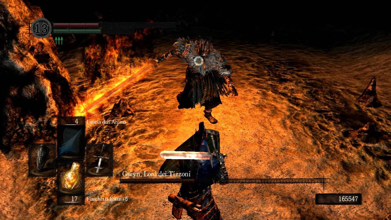 Dark souls vs gwyn lord of cinder dark lord ending credits
