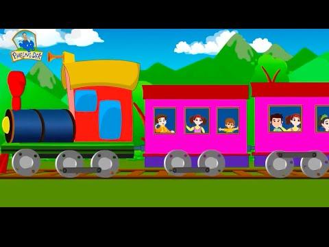 เพลงรถไฟ | เพลงเด็ก เมดเล่ย์ 13 เพลง | เพลงเด็ก