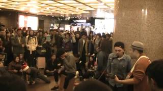 Kit@The Flame -cover Adele Rolling in the Deep@TIMES Square(20122014 )