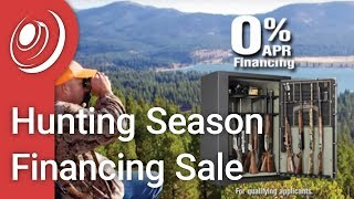 Safe and Vault Hunting Season Financing Sale