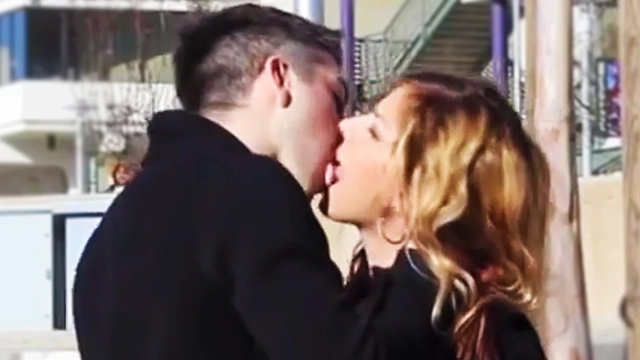 Girl Kissing Strangers Prank Girl Kissing Strangers
