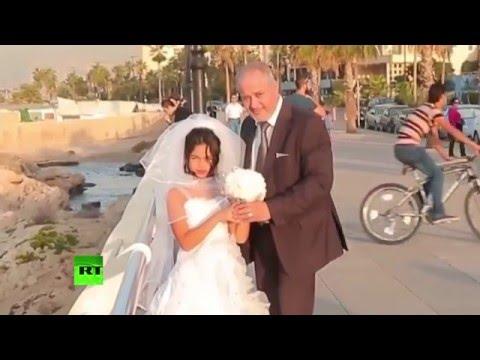 «Родители не против!»: эксперимент ливанской организации привлек внимание к бракам с малолетними