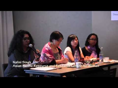 Asia Pacific Women Civil Society meet with press