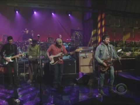 Modest Mouse - Satellite Skin on David Letterman