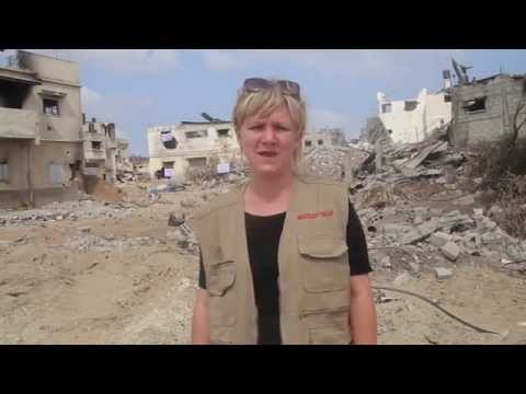 Video diary: ActionAid's work amongst the ruins of Gaza