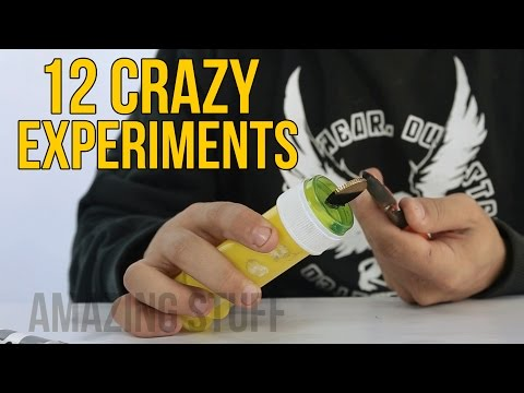 12 CRAZY EXPERIMENTS | Cool science experiments you must watch