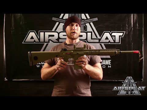 ARES Knights Armament M110 Airsoft Rifle - AirSplat On Demand
