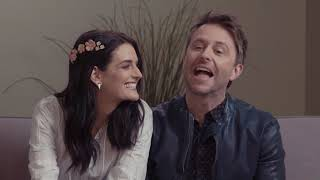 Chris Hardwick and Lydia Hearst Answer Our Nosey Questions