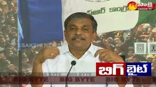 Sajjala Ramakrishna Reddy Slams Chandrababu | Sakshi BIG BYTE