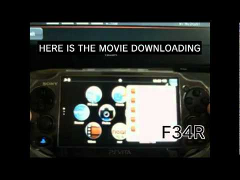 How To Downlod Movies On The Ps Vita Direct From Web Browser***** video