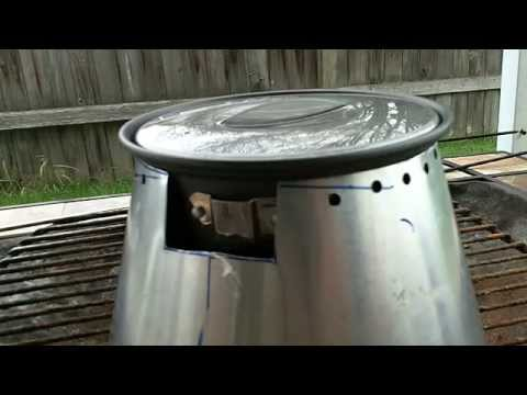 Caldera Cone Alcohol Stove Test