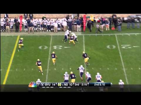 Stephon Tuitt vs BYU 2012
