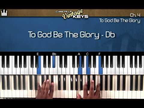 To God Be The Glory VINTAGE KEYS (PIANO Instructional )