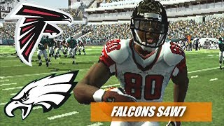 THE AIR SHOW - MADDEN 07 PS2 - FALCONS FRANCHISE VS EAGLES S4W7