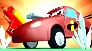 Tom the Tow Truck's Car Wash -  Special The Incredibles - Baby Jerry Wants to be Like Frozone