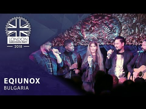 EQUINOX - Bones - BULGARIA | LIVE | OFFICIAL | 2018 London Eurovision Party