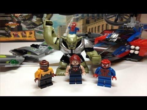 LEGO Marvel Super Heroes Spider-Man Spider-Helicopter Rescue Review 76016