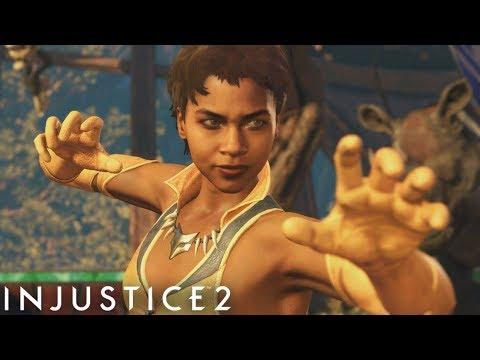 Injustice 2 - Vixen - Advanced Battle Simulator on Very Hard (No Matches Lost)
