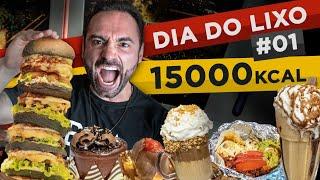 "Dia do ""lixo"" (delícias) #1 - Jeti's, Tollocos, Panetteria ZN (~15.000 kcal) [#60~#61]"