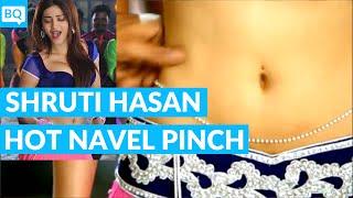 Shruti Hassan Navel Pinch Hot