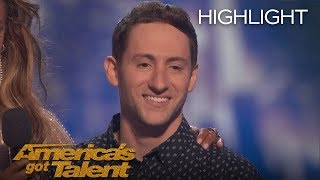 Samuel J. Comroe Receives 4th Place on AGT - America