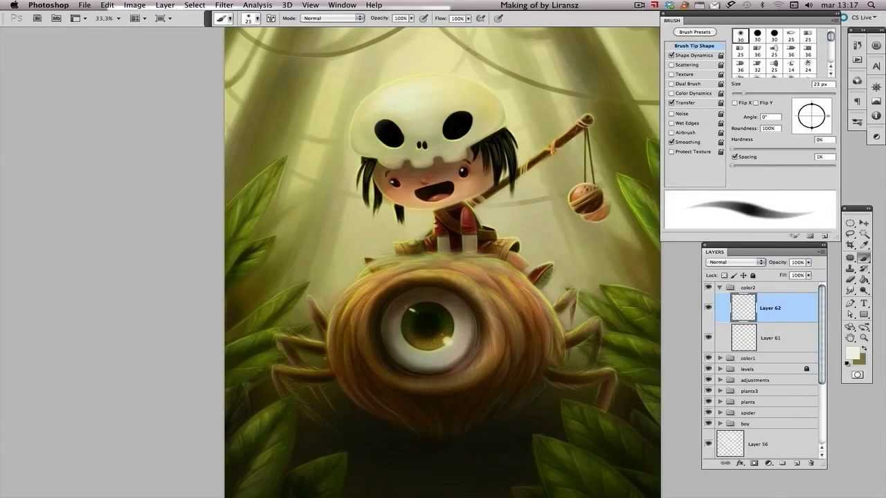 Speed painting create a fantasy storybook illustration Build storybook