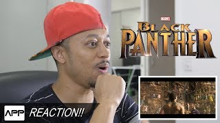 Black Panther Teaser Trailer Reaction!