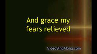 Amazing Grace Instrumental with Lyrics