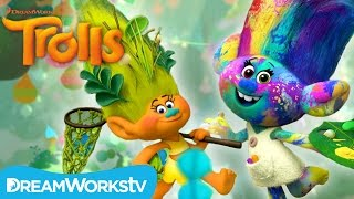 Travel Through Troll Village | DREAMWORKS TROLLS