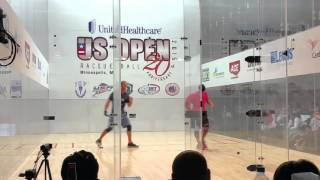 Game 1: Granberg vs Barth (2014 MN Racquetball State Finals)