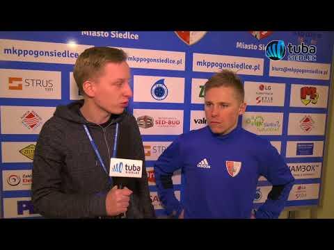 Wywiady po meczu Zagłębie Sosnowiec vs Pogoń Siedlce 3.03.2018