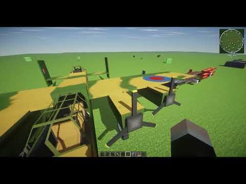 Minecraft Mod Review: Flans Mod 1.7.2 [Armas,Vehiculos,Aviones] +Descarga