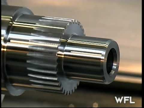 WFL M60 MillTurn Complete Crankshaft Machining - MARTECH Machinery, NJ - USA
