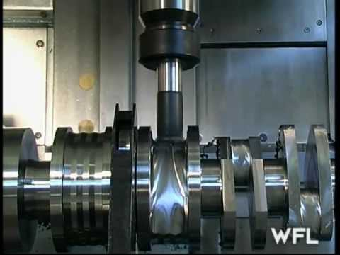 WFL M60 MillTurn Complete Cranfshaft Machining - MARTECH Machinery, NJ - USA