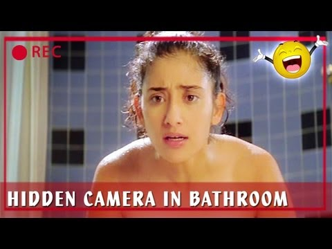 Manisha Koirala & Sunny Deol - Hidden Camera In Bathroom - Champion video