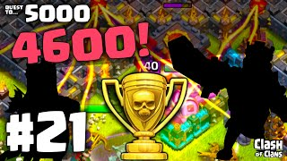 "Clash of Clans Attacks ""Quest to 5000 Trophies"" Episode 21 ♦ 4600 ♦ CoC ♦"