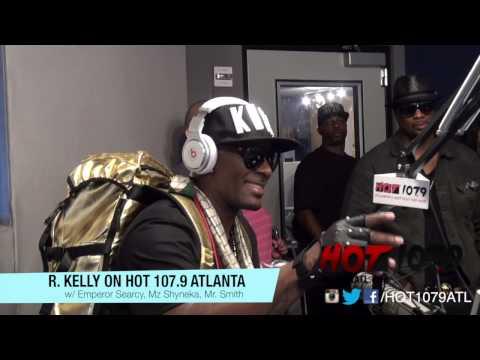 R Kelly Live Performance on Hot 107.9 Atlanta