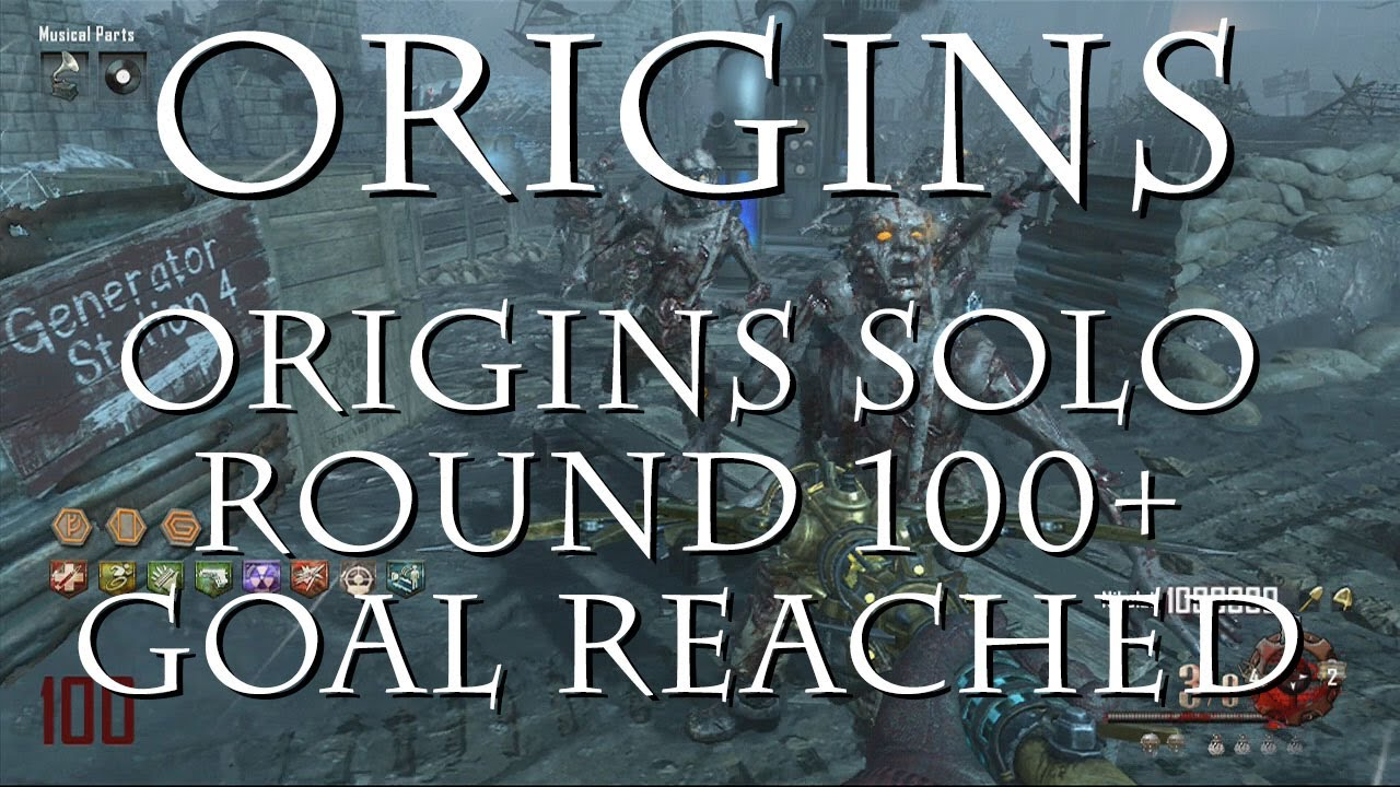 origins solo round 100 goal reached by in2itscott youtube