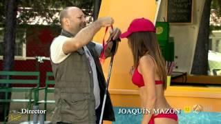 """María León en bikini en """"Con el culo al aire"""""""