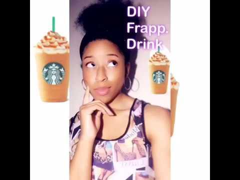 DIY Frappuccino Drink!