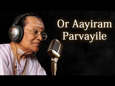 Or Aayiram Parvayile - T. M. Soundararajan Live - Isai Ragam