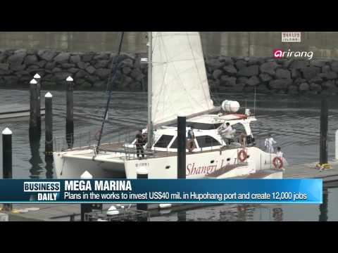 Business Daily-Fledgling yacht industry in Korea   한 걸음 다가 온 요트! 더 가까워 질 수 있을까?