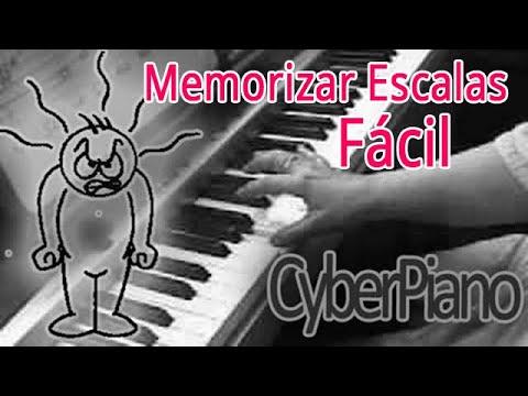 Como memorizar las escalas musicales en dos sencillos pasos
