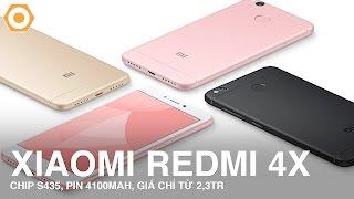 Xiaomi Redmi 4X xuất hiện - Chip Snap 435, pin 4100mAh, giá cực rẻ
