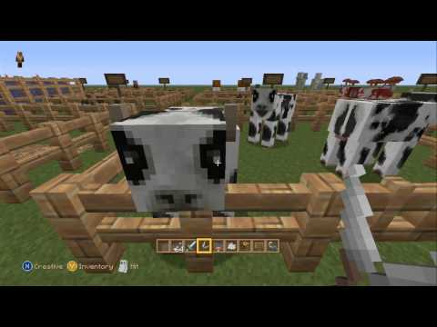Minecraft Xbox 360 - Taking a Look at the Natural Texture Pack. (Review)