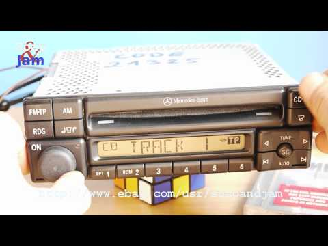 Mercedes Benz Special Radio and CD-Player Alpine MF2197.  Made In Japan.