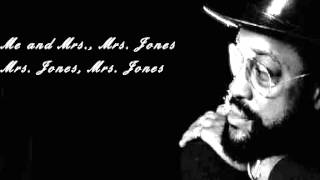 Watch Billy Paul Me And Mrs Jones video