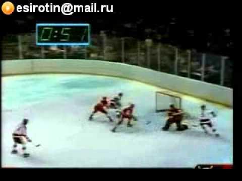 Хоккей олимпиада 1980 СССР - США